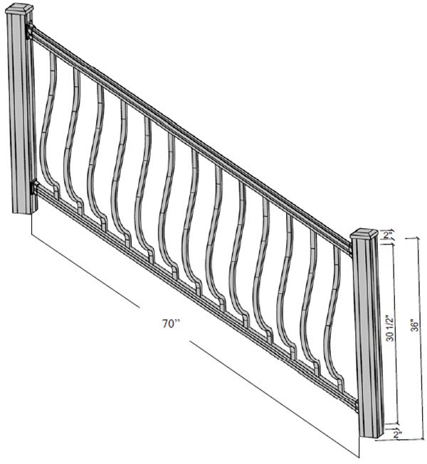 altoona stairs dimensions
