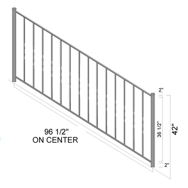 dayton stairs dimensions