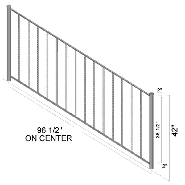 hartford stairs dimensions