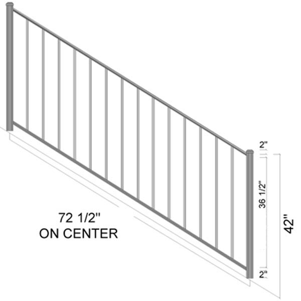 irondale stairs dimensions