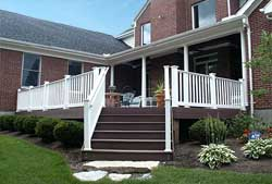 Picture of front deck