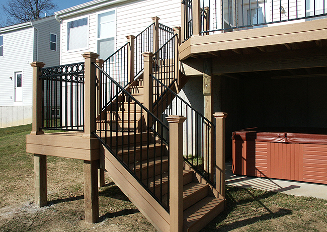 Fortress Deck Stairs