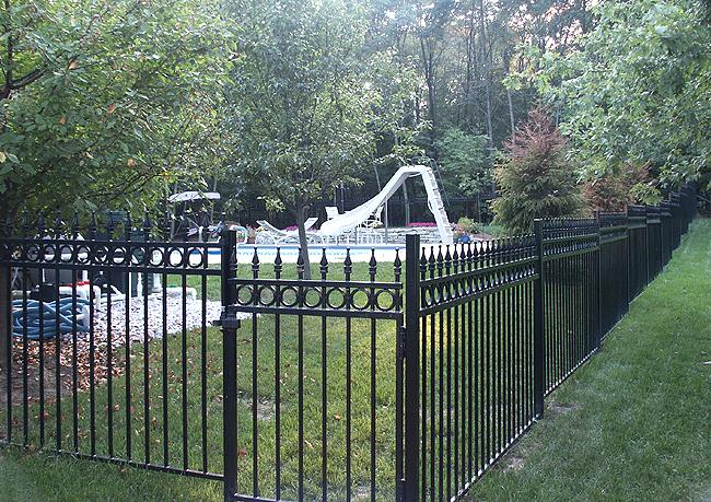 Fencing Fortress Around Pool